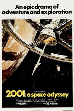 2001 A Space Odyssey, 1968