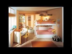 45 Colorful FUN and Cute Kids Bedroom Decorating Ideas Pictures