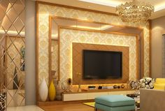 Modern TV wall units for living rooms - Wooden TV cabinets designs 2020 unit decor Top Of Modern Tv Cabinet, Tv Cabinet Design, Tv Wall Design, Modern Tv Room, Modern Tv Wall Units, Living Room Wall Units, Living Room Tv Unit Designs, Living Rooms, Tv Unit Interior Design