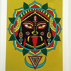"Really excited about this . ""Kali Ma"" a new print..."