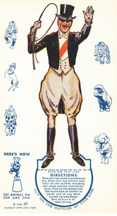 Image result for ringmaster early 1900s