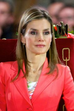 04 June 2014 Prince Felipe  and Princess Letizia  attended the 'Prince de Viana' award 2014 at the San Salvador de Leyre Monastery in Navarra