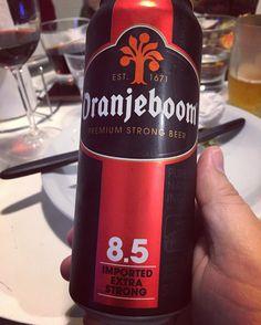 Se siente bien el alcohol y tiene un dulce en aroma y en el paladar que la hacen bien bebible. #cerverza #beer