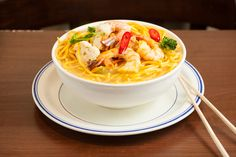 Main Dishes - Noodle Soup Seafood