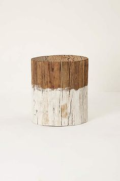Reclaimed Wood Side Table - anthropologie.com