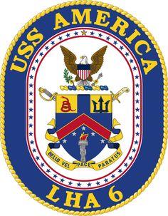 USS America LHA-6 Crest