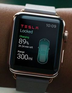 technology gadgets - Tesla app for Apple Watch could let you control a car from your wrist Cool Technology, Wearable Technology, Technology Gadgets, Tech Gadgets, Technology Apple, Clever Gadgets, Baby Gadgets, Futuristic Technology, Medical Technology