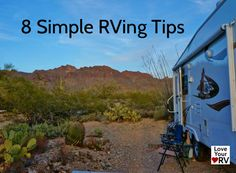 """RVing Tips video Quick Little RVing Tips from a Full Time RVer"""" was very well receive and I got a ton on positive feed back from folks thanking me. Camper Life, Rv Life, Rv Campers, Happy Campers, Rv Camping Tips, Camping Ideas, Rv Trailers, Travel Trailers, Rv Hacks"""