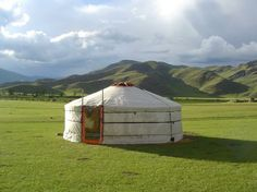Felted Yurt in Mongolia by shyfly