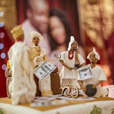 Nigerian wedding traditional weddig cake ideas diko photography