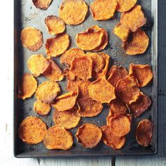 Baking these reduces both fat and grease content of the chips.