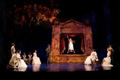 Love's Labour's Lost. Huntington Theatre. Scenic design by Alexander Dodge. 2006