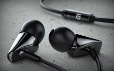 LD Metro earphones rendered in KeyShot by Claudius Dreyer of Ganz Einfach GmbH.