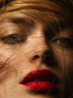 photo shoot idea - hair wisps/ against skin/ detail