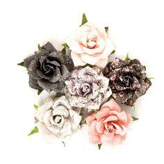 Prima Marketing PERSIAN MARBLELITE Rose Quartz Flowers 595081 zoom image