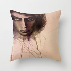 dr frank n furter Throw Pillow by Joedunnz - $20.00