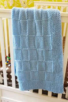 And this is why I learned how to knit, to make a blankie for my boys!