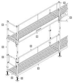 Andamio de Marco DORPA - ULMA Construcción