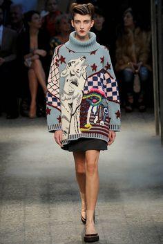 вязаные изделия на new-york fashion week 2014 - Поиск в Google