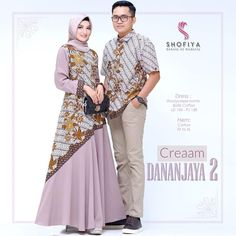 Model Baju Batik Gamis Couple Seri Dananjaya  Call Order Whatsapp ( Text Only ) 082-135-313-738 Pin BB D919D352  Model Baju Batik Gamis Couple Seri Dananjaya Kemeja Pria Lengan Pendek Harga Couple Dewasa Rp.375.000 Bahan : katun batik Ukuran  Model Baju Batik Gamis Couple Seri Dananjaya  Size wanita dewasa Allsize LD104cm Panjang 138cm Size pria Fit To XL Muslim Gown, Muslim Long Dress, Kebaya Muslim, Batik Fashion, Abaya Fashion, Fashion Outfits, Women's Fashion, Model Dress Batik, Modern Batik Dress