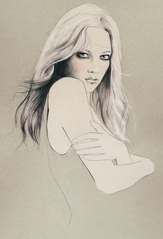 Kelly Thompson #illustration #girls | OLDSKULL.NET