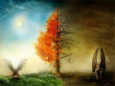 Nature vs evil