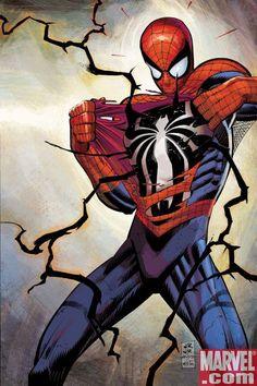 Spider-Man x Venom by John Romita Jr. *