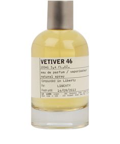The Rolls Royce of Vetivers, nurtured in Haiti and retired to Grasse in accord with local know-how, is the pillar of this perfume that, without a doubt, is the most masculine of all Le Labo creations.
