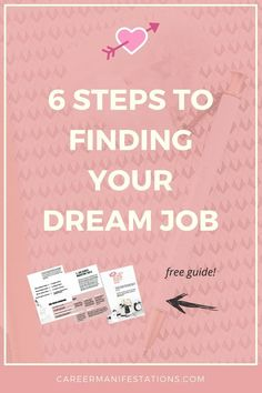 6 Steps to Finding Your Dream Job, this free step by step guide will show you how to develop an effective job search strategy to land your dream job offer, how to prepare job interview