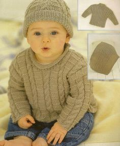 Baby Knitting Patterns free knitted baby sweater patterns for boys Sirdar Knitting Patterns, Baby Boy Knitting Patterns, Baby Sweater Patterns, Knitting For Kids, Baby Patterns, Free Knitting, Beginner Knitting, Baby Boy Sweater, Knit Baby Sweaters