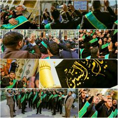 [13 Jammad Al-Akhir 1437]  Procession in Imam Ali Holy Shrine to Commemorate  the Death Anniversary of  Ummul Baneen (S.A)