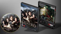Os Quatro - Capa   VITRINE - Galeria De Capas - Designer Covers Custom   Capas & Labels Customizados