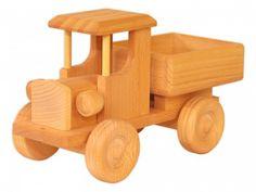 933-9255 Holzauto ökologisches Holzspielzeug Lastzug LKW Lastauto Baufahrzeug | Holzfahrzeuge | Holzspielzeug | Erst-Holz ®