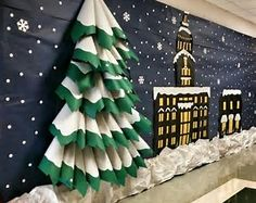 Image result for Polar Express Themed Party Back Drop