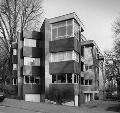Oswald Mathias Ungers - Wohnhaus Mozartstraße, Wuppertal  1959