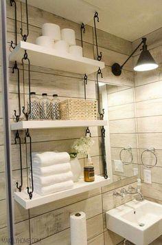 Love the hooks, holding the shelves