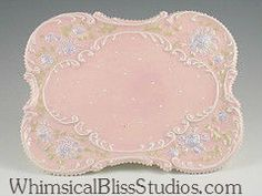 Whimsical Bliss Studios - Victorian Plate