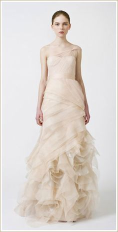 vera wang farrah dress spring 2011
