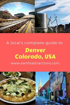 This local's guide to Denver, Colorado invites you to discover the top attractions in Denver, off the beaten path things to do in Denver, where to eat in Denver, where to stay, and tips for Denver