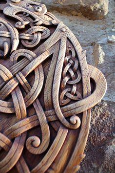 Celtic Wolfs Norse Wood Carving Fenrir Viking Mythology Symbol Decor Plaques Home Pagan Gods Carving Heathen Asatru Rune Wood Wall Hanging Wood Wax, Cnc Wood, Wood Carving Patterns, Carving Designs, Pagan Gods, Norse Pagan, Viking Designs, Viking Art, Viking Woman