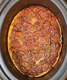 Crockpot Pecan Pie