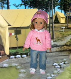 "Cute doll clothes for American Girl Dolls! Outdoor Doll Outfits & Fun For 18"" & American Girl: Ice Skates, Winter Coats, Tents, Bikes, Doll Cars, and Much More!"