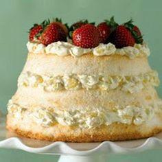dessert cake recipe - angel lush cake with pineapple