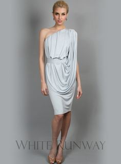 Iron bridesmaid dress, Greys