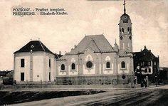 Modrý kostolík 1910 Bratislava, Kirchen, Notre Dame, Wwii, Landscape, Architecture, Building, Travel, Berlin