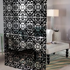 Starburst Decorative Panel - Set of 4 - 16W x 16H in. each  what a great inexpensive option