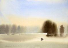 Branislav Markowic Umbra watercolor - Cerca amb Google