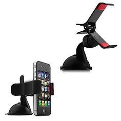 Amazon.com: Honorie Car Phone Mount Holder - Universal Design for Apple iPhone 6 / iPhone 6 Plus, Samsung Galaxy S5, Note 4, Compatible with Most Smartphone / Cell Phone Models - Strong Suction To Safely Fix Mount to Windshield - AT&T, Verizon, Sprint - Easy to Assemble: Electronics