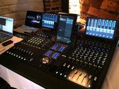 Avid S6 Console - full view Recording Studio Equipment, Recording Studio Design, Music Studio Room, Audio Studio, Studio Gear, Studio Setup, Music Studios, Dream Studio, Studio Interior