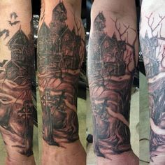 1000 ideas about graveyard tattoo on pinterest all seeing eye zombie tattoos and archangel. Black Bedroom Furniture Sets. Home Design Ideas